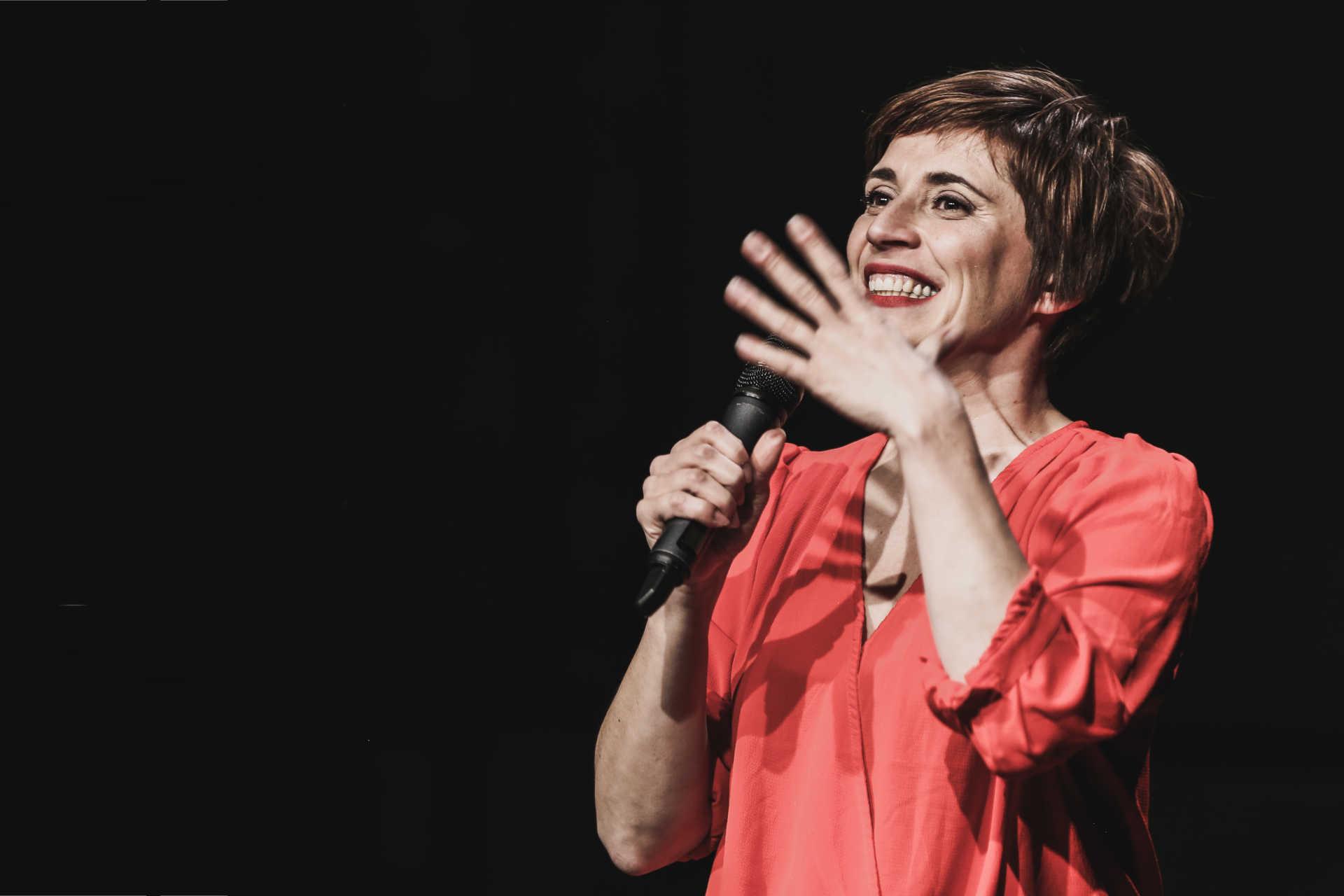 Susanne Plassmann als Moderatorin